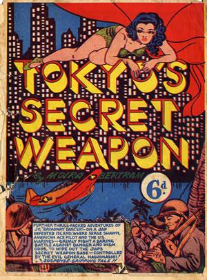 tokyo secret weapon comic book cover