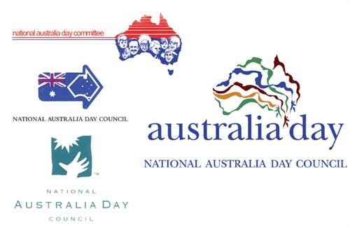 Australia Day logos since 1980.