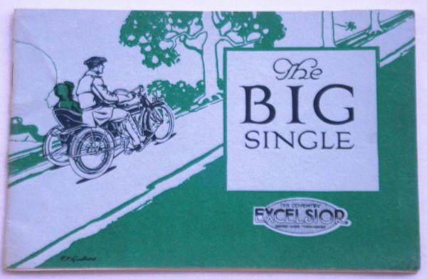 Motorbike catalogue circa 1910. For sale at May 2014 fair, Mark Burgess.