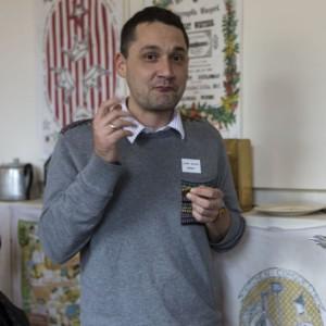 ESA member Juan Sanin