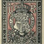 Bookplate of Queen Victoria.