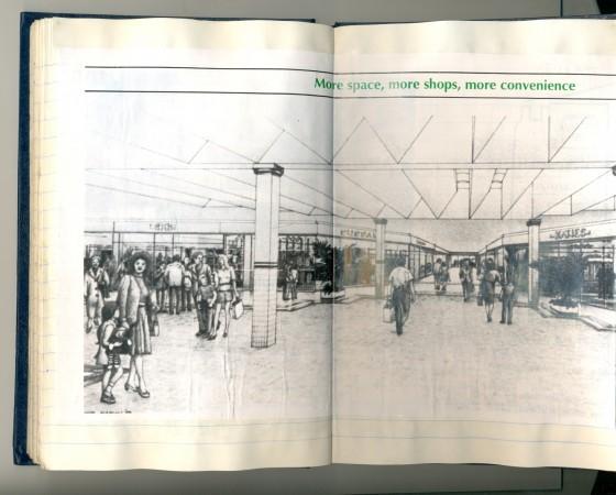 'Brandon Park Shopping Centre: even better' folding flyer,1988. Collection of Ian B.