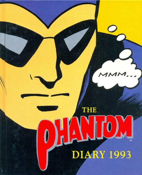 'The Phantom Diary 1993', Mallon Publishing, Melbourne, 25 x 17.5 cm. Collection of Richard Felix.