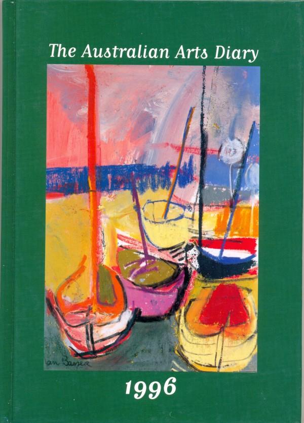 'The Australian Arts Diary 1996', Maria Prendergast, Melbourne, 25 x 17.5 cm. Collection of Richard Felix.