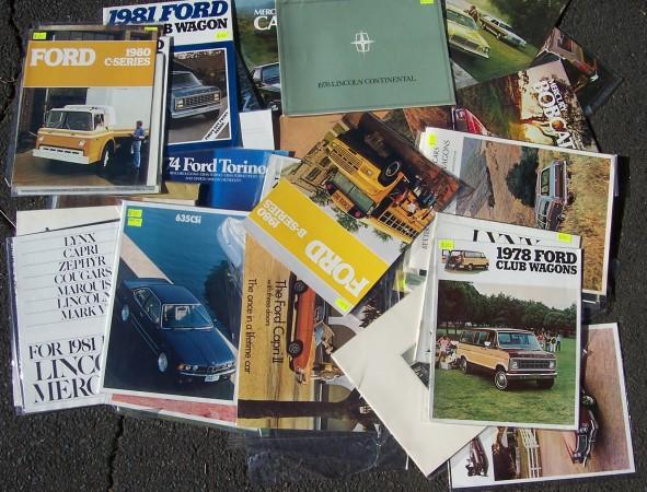 Shipley Ford brochures