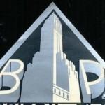 Barbizon Plaza, Central Park South, New York City, sticker, 10.9 x 19 cm. Collection of AJAY.