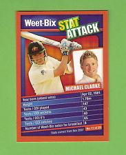 Weet-Bix Stat Attack: Michael Clarke, c2000s