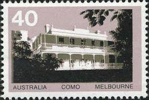 Australia Post, Como House stamp.
