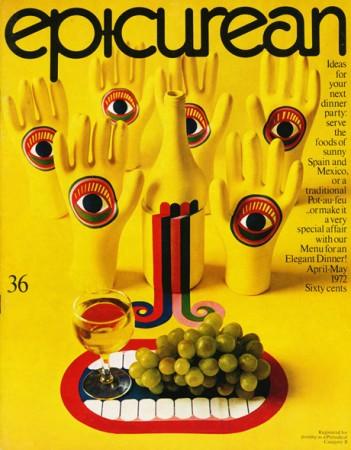 Epicurean #36 cover designed by Les Mason.