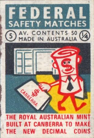 dec currency new mint match box