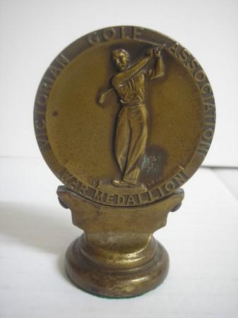 WW1, medallion, verso.