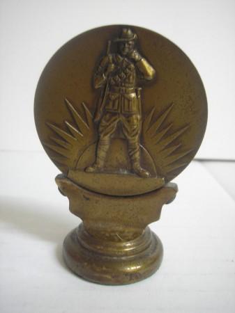 WW1 medallion.