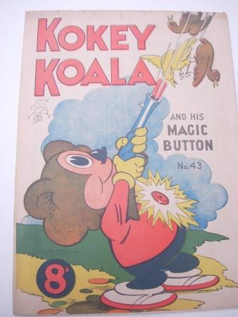Kokey Koala no.43, for sale at the fair 20/11/16 from Mick Stone's stall.