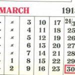 Calendars – social history – $?